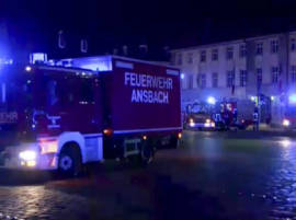 Ansbach explosion: Syrian refugee killed by own bomb at German bar, 11 injured