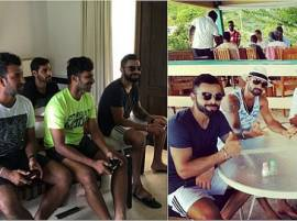 Team India Enjoys PlayStation And Caribbean Beaches After First Test Win