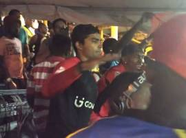 WATCH: Umar Akmal dances after hitting 7 sixes in CPL T20