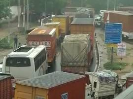 Gurugram: Traffic jams, waterlogging  bring city to a standstill; schools shut