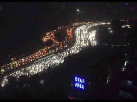 Gurugram: Traffic Jams, Waterlogging Bring City To A Standstill