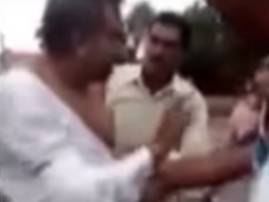 SHOCKING VIDEO: Mandsaur Additional Sessions Judge Rajvardhan Gupta beaten up after car accident