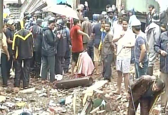 Building collapses in Thane, 5 killed