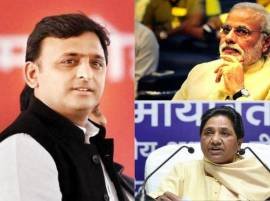 BJP chasing SP in UP, BSP runners up, Congress a distant straggler