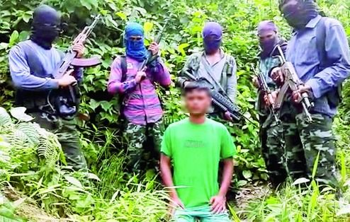 BJP leaders son kidnapped, ULFA releases ISIS-style video