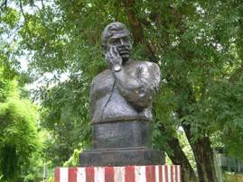 Statue of Chandra Shekhar Azad vandalised