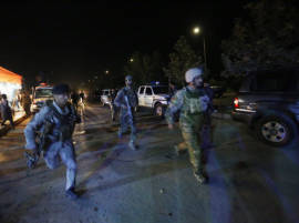 American University under attack in Kabul