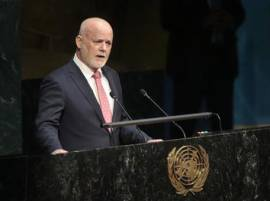 UNGA president-elect Ambassador Peter Thomson to visit India on Monday