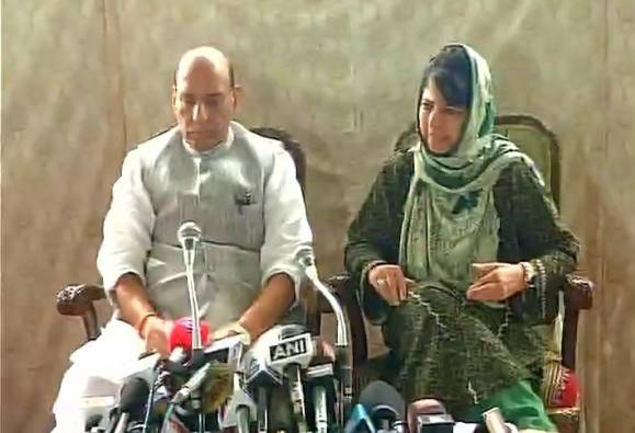 Children are children, if they pick up stones; they must be counseled: Rajnath Singh
