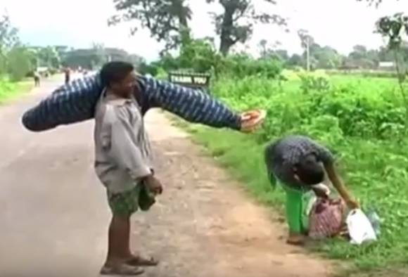 Odisha: Probe ordered in tribal man's plight of not getting vehicle to carry wife's body