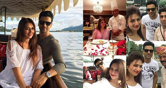 Newlywed Divyanka Tripathi Enjoys Secret Honeymoon In Udaipur With Hubby Vivek Dahiya