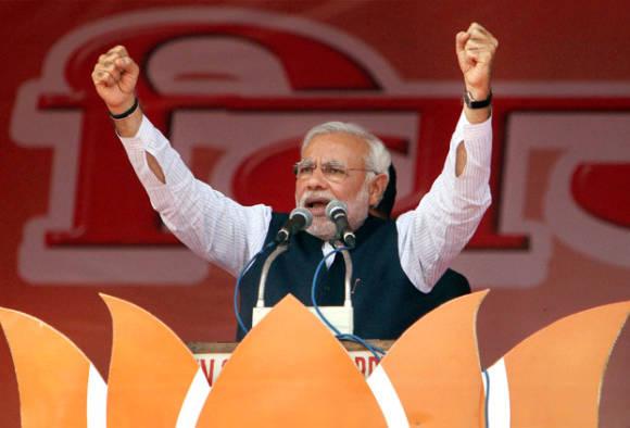 Twitterati hails Modi's fiery speech against Pakistan