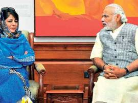 CM Mehbooba Mufti to meet PM Narendra Modi today to discuss Kashmir logjam