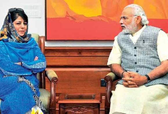 CM Mehbooba Mufti to meet PM Narendra Modi today to discuss Kashmir logjam