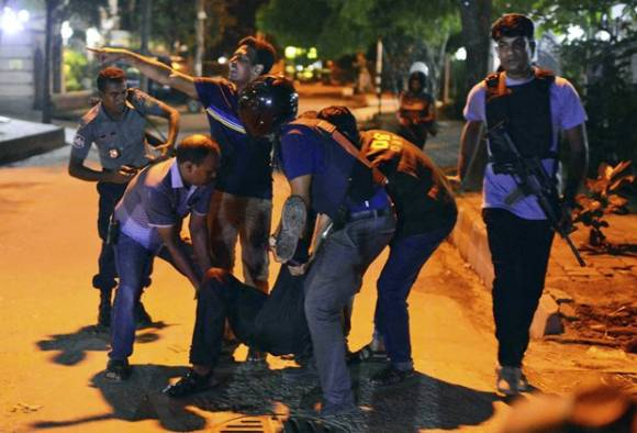 Dhaka cafe attack 'mastermind', 2 others killed during an encounter in Bangladesh