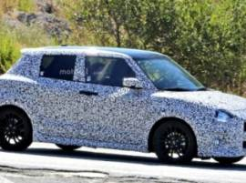 2017 Swift Sport spied for the first time