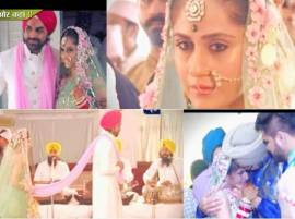EXCLUSIVE: From Pheras to Bidaai, All Pictures from Hunar-Mayank's WEDDING!