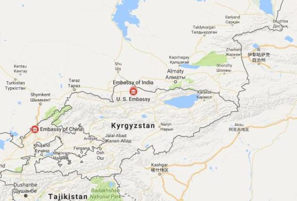 One killed at Chinese embassy blast in Kyrgyzstan