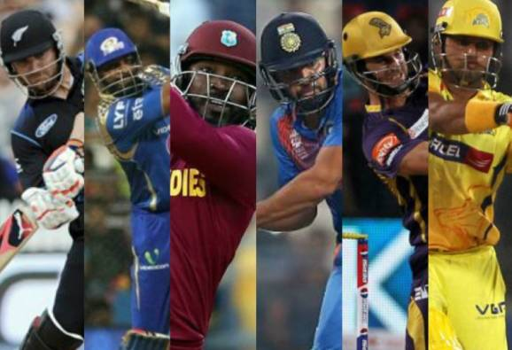 Top 10 Batsmen With Most Sixes In T20 Cricket