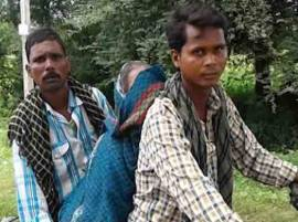 Madhya Pradesh: No ambulance on call, sons carry woman
