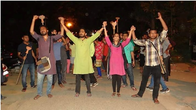 Left leads in JNU polls, ABVP and NSUI far behind