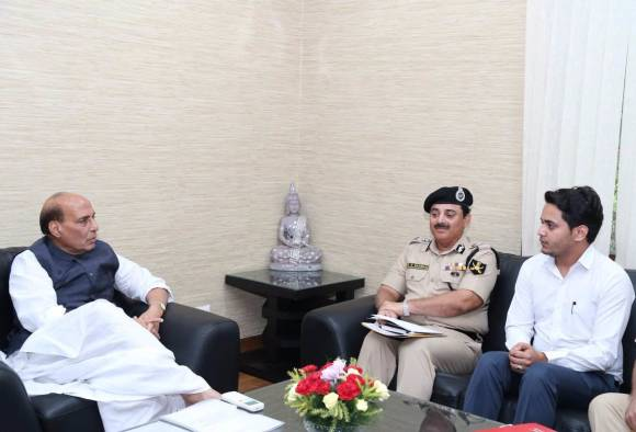 Kashmir unrest: Rajnath Singh chairs high-level meet, reviews India's internal security situation