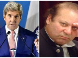 Pakistan must stop giving safe haven to terrorists, Kerry tells Nawaz Sharif