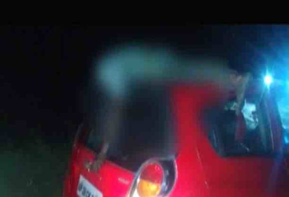 Car hits man, moves for 3 km with body on roof