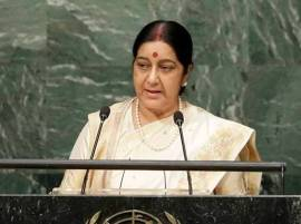 Sushma Swaraj to address UNGA; strong response to Pakistan expected