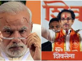 "Sena dig at Modi, says Pak PM now showing ""56-inch chest"""