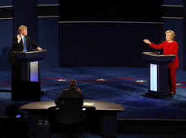 Hillary Clinton wins first debate, 62% to 27%: CNN/ORC polls