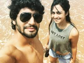Abigail Pande holidaying with beau Sanam Johar