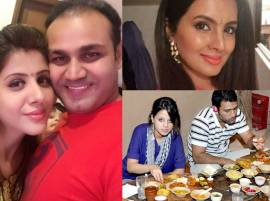 How Cricketers' Wives Celebrated Karwa Chauth