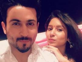 TV actress Vinny Arora did something special for her would-be hubby  on Karva Chauth