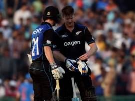 India vs New Zealand: Neesham, Henry lead remarkable recovery to take NZ to 285