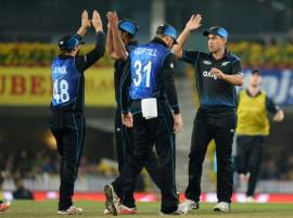 Batsmen falter as New Zealand beat India by 19 runs to level series