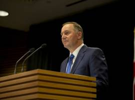 New Zealand Prime Minister John Key resigns citing family reasons