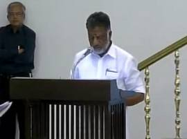 O Panneerselvam sworn in as Chief Minister of Tamil Nadu