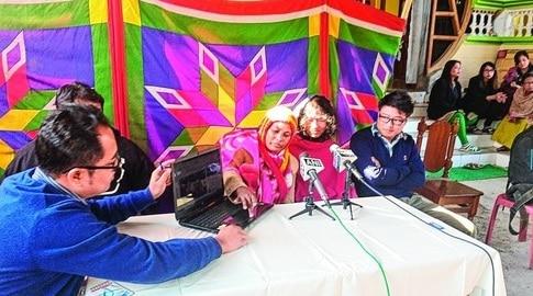 Sharmila party seeks funds
