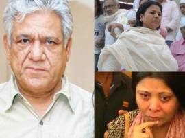 Om Puri's wives hold separate prayer meets