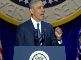 Barack Obama farewell speech: POTUS says his goodbye with a plea for Americans