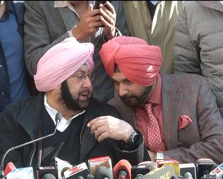 Sidhu has joined Congress without any pre-conditions: Amarinder