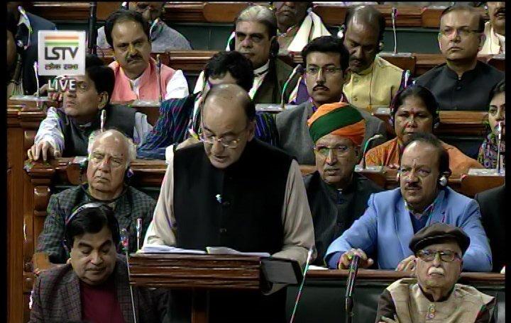 LIVE Finance Minister Arun Jaitley Union Budget 2017 Parliament