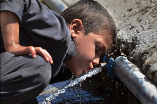 In Pakistan, 84 per cent people lack access to clean drinking water