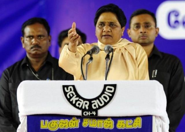 Why is Mayawati angry?