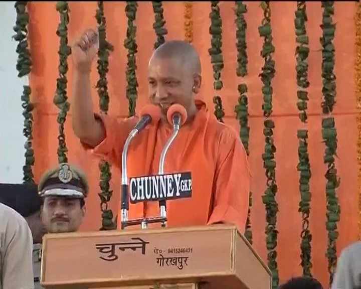 UP CM Yogi Adityanath speaks at Gorakhpur's MP college, says