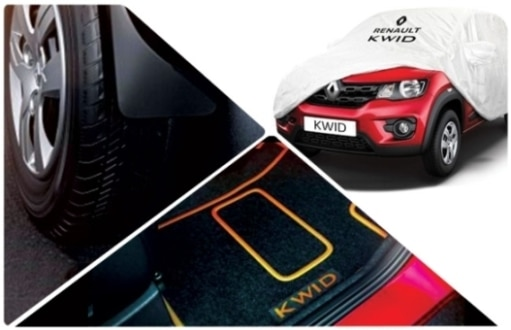Renault Kwid accessories: Personalise your hatch