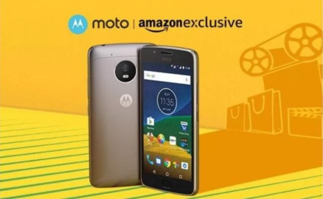 Moto G5 launches exclusively on Amazon.in
