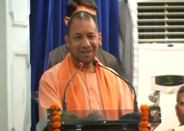 Adityanath warns of tough action against cow smugglers, says to link 'Vande Mataram' with communalism is unfortunate