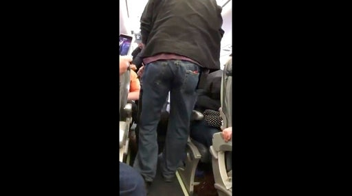 Video of passenger getting dragged off United Airlines flight sparks uproar